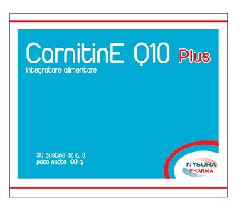 CarnitinE Q10 Plus Integratore Nutrizionale 30 Bustine