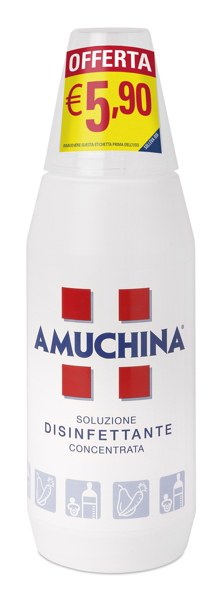 AMUCHINA 100% 500 ML PROMO - Farmaciaempatica.it