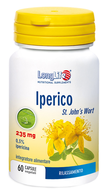 LONGLIFE IPERICO 60 CAPSULE VEGETALI - Farmabellezza.it