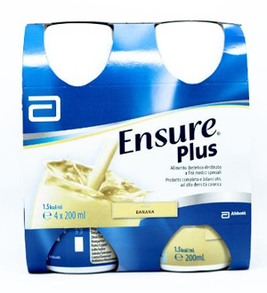 ENSURE PLUS BANANA 4 BOTTIGLIE DA 200 ML - farmaciadeglispeziali.it