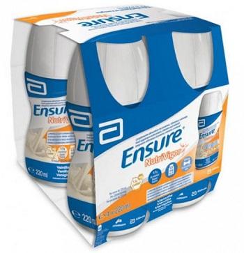 Ensure Nutrivigor Vaniglia 4 x 220ml - Arcafarma.it