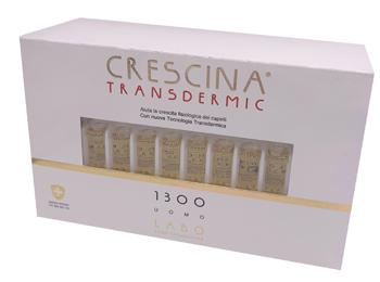 CRESCINA TRANSDERMIC RI-CRESCITA 1300 UOMO 20 FIALE DA 3,5 ML - Farmafamily.it
