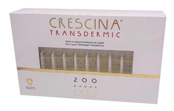 CRESCINA TRANSDERMIC RI-CRESCITA 200 DONNA 20 FIALE DA 3,5 ML - Farmafamily.it