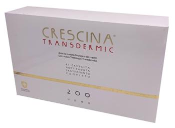 TRATTAMENTO COMPLETO CRESCINA TRANSDERMIC RI-CRESCITA 200 UOMO 20+20 FIALE DA 3,5 ML - Farmafamily.it