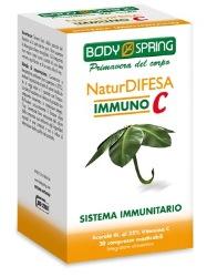 BODY SPRING NATURDIF IMMUNO C 30 COMPRESSE - farmaciafalquigolfoparadiso.it