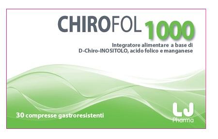 Chirofol 1000 Integratore Alimentare 30 Compresse - Turbofarma.it