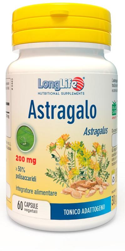 LongLife Astragalo Integratore Difese Immunitarie 60 Capsule