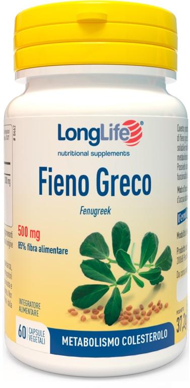 LONGLIFE FIENO GRECO 60 CAPSULE - Farmaseller