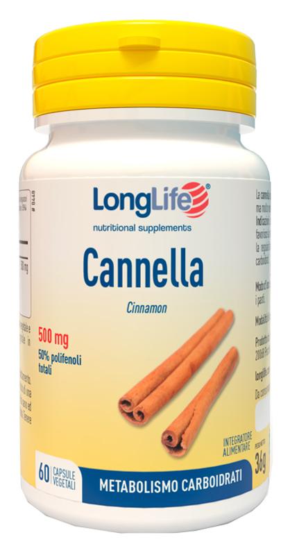 LONGLIFE CANNELLA 60 CAPSULE - farmaciadeglispeziali.it