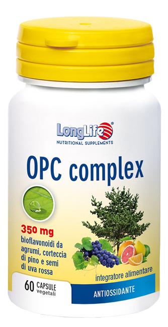 LONGLIFE OPC COMPLEX 60 CAPSULE VEGETALI - Parafarmacia la Fattoria della Salute S.n.c. di Delfini Dott.ssa Giulia e Marra Dott.ssa Michela