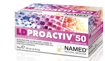 LD PROACTIV 50 20 COMPRESSE - Farmaciasvoshop.it