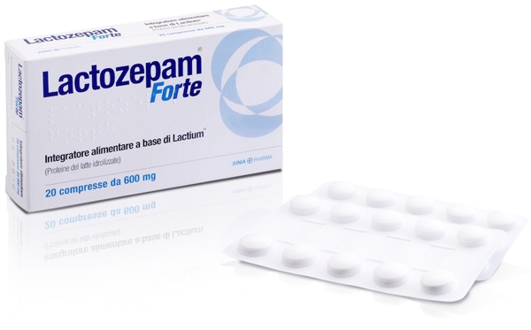 LACTOZEPAM FORTE 20 COMPRESSE - Farmapage.it