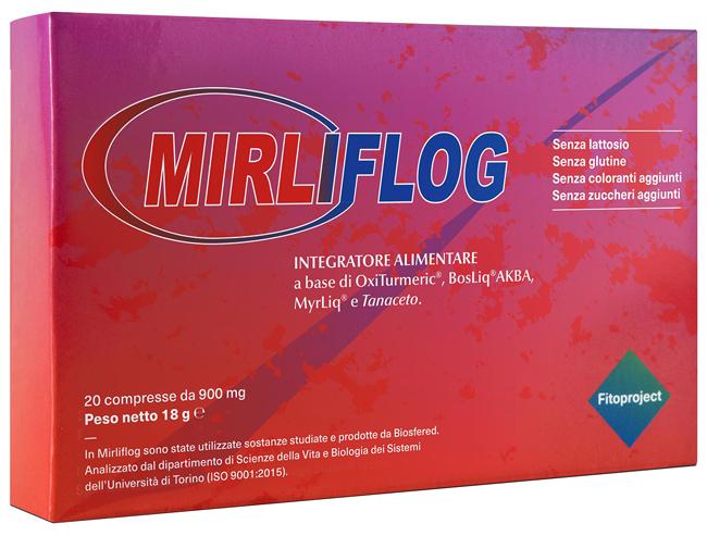 MIRLIFLOG 20 COMPRESSE - Farmacia Massaro