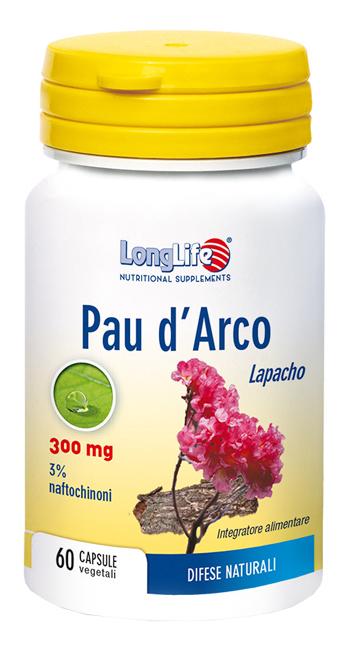 LONGLIFE PAU DARCO 60 CAPSULE VEGETALI - Farmalke.it