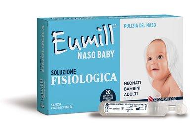 EUMILL NASO BABY SOLUZIONE FISIOLOGICA 20 MONODOSE 5 ML - Spacefarma.it
