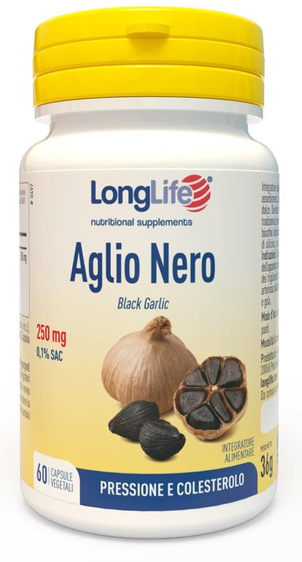 LONGLIFE AGLIO NERO 60 VEGICAPSULE - Farmalke.it