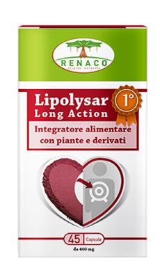 LIPOLYSAR LONG ACTION 45 CAPSULE - Farmaseller