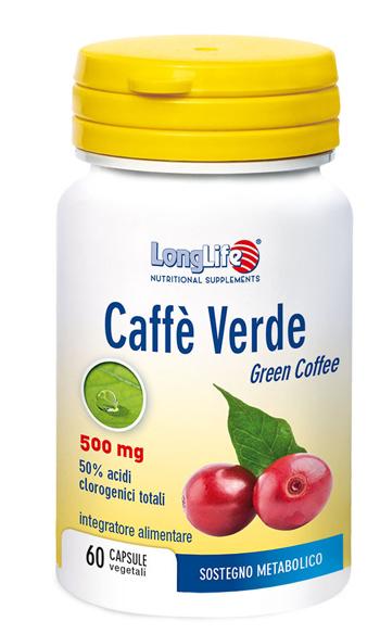 LongLife Caffè Verde Integratore Dimagrante 60 Capsule