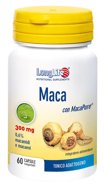 LONGLIFE MACA 60 CAPSULE - SUBITOINFARMA