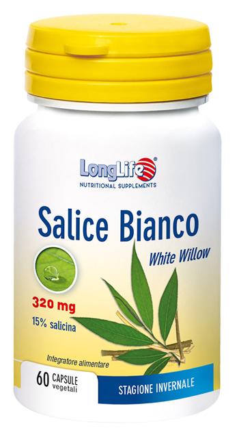 LongLife Salice Bianco Integratore Per la Stagione Invernale 60 Capsule