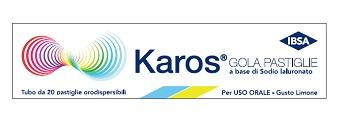 KAROS GOLA 20 PASTIGLIE ORODISPERSIBILI - Farmacia Giotti