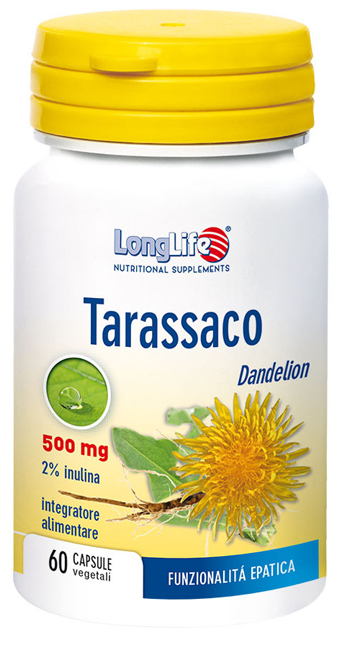 LONGLIFE TARASSACO 60 CAPSULE - Parafarmacia la Fattoria della Salute S.n.c. di Delfini Dott.ssa Giulia e Marra Dott.ssa Michela