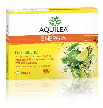 AQUILEA ENERGIA GUSTO MOJITO 10 BUSTINE DA 6 G - Spacefarma.it