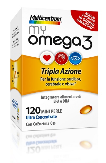 MULTICENTRUM MY OMEGA3 120 MINI PERLE - Farmafamily.it