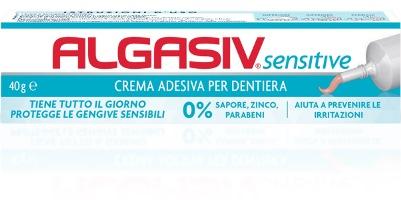 ALGASIV SENSITIVE CREMA ADESIVA PER PROTESI 40 G - Farmaciaempatica.it