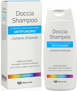 MASSIGEN DET DOCCIA SHAMPOO ANTIFUNGINO 200 ML - Farmajoy