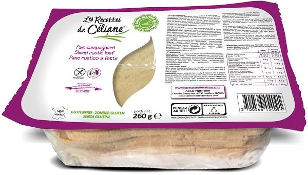 LES RECETTES DE CELIANE PANE RUSTICO A FETTE 260 G SENZA LATTE - Farmaciacarpediem.it