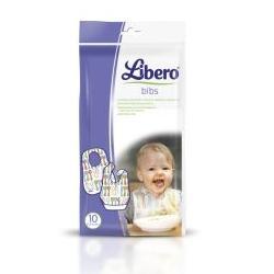 LIBERO EASY MEAL BAVAGLIA MONOUSO PER BAMBINO 10 PEZZI - Farmajoy