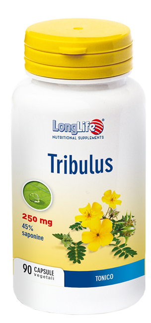 LONGLIFE TRIBULUS TERRESTRIS 90 CAPSULE - Farmabellezza.it