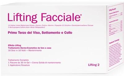 TC LIFTING FACCIALE 1 TERZO DEL VISO SOTTOMENTO E COLLO LIFTING 2  30 ML + CREMA SOLIDA 50 ML - farmaciadeglispeziali.it
