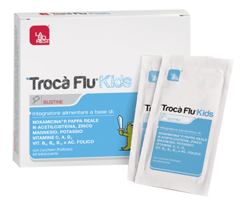 TROCA' FLU KIDS 10 BUSTINE 6,5 G - Farmafamily.it