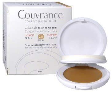 Avene Couvrance Crema Compatta Colorata Comfort Naturale 9,5g - Sempredisponibile.it