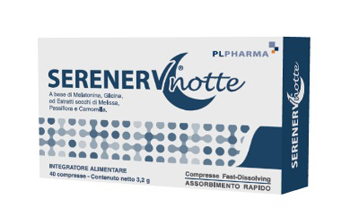 SERENERV NOTTE 40 COMPRESSE 0,8 MG - Parafarmacia Tranchina