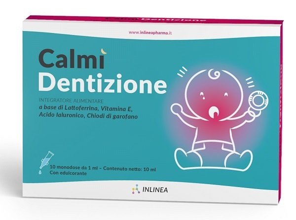 CALMI' DENTIZIONE 10 FLACONCINI MONODOSE DA 1 ML - Farmia.it