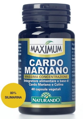 MAXIMUM CARDO MARIANO 40 CAPSULE - Farmapage.it