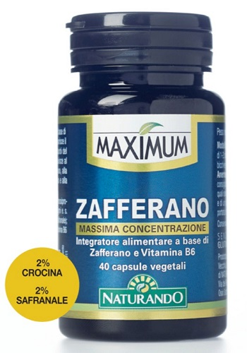 MAXIMUM ZAFFERANO 40 CAPSULE - Zfarmacia