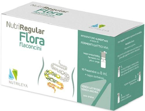 NUTRIREGULAR FLORA 10 FLACONCINI 10 ML