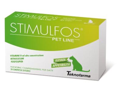 STIMULFOS PET LINE GATTO MANGIME COMPLEMENTARE SCATOLA 30 COMPRESSE - Farmabellezza.it