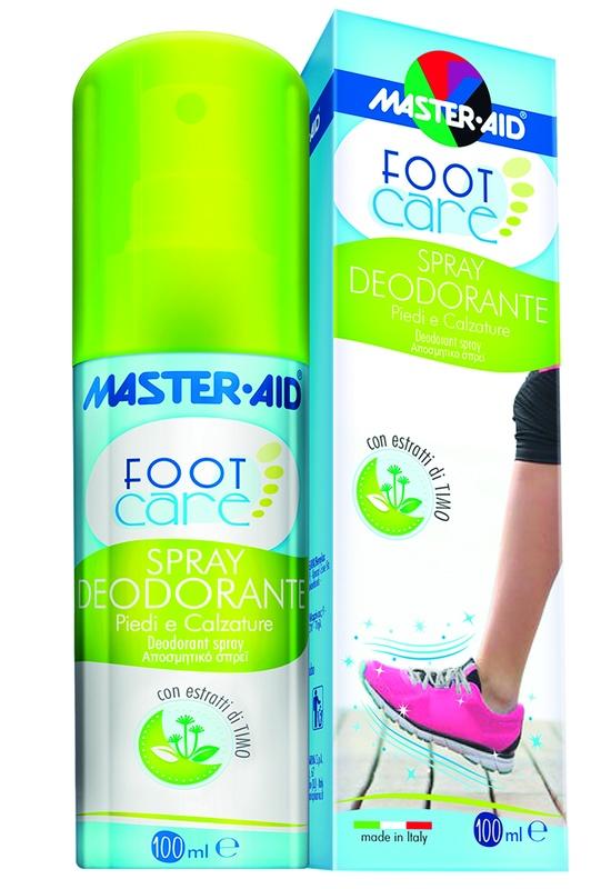 MASTER-AID FOOT CARE SPRAY DEODORANTE 100 ML - Farmacia Basso