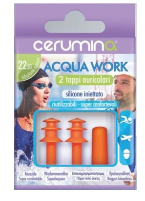 CERUMINA ACQUA WORK 2PZ - Farmabros.it