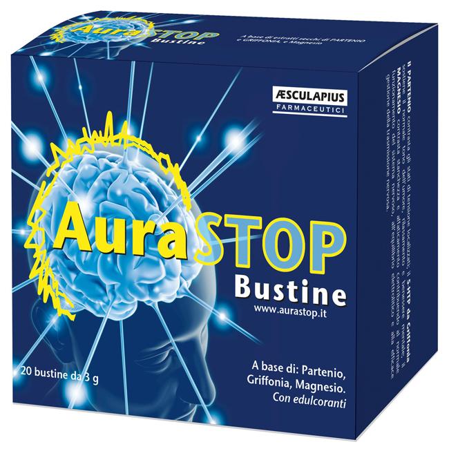 AURASTOP 20 BUSTINE DA 3 G - Farmacia Bartoli