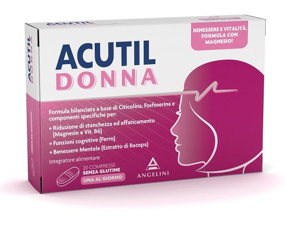 ACUTIL DONNA 20 COMPRESSE - Farmaciacarpediem.it