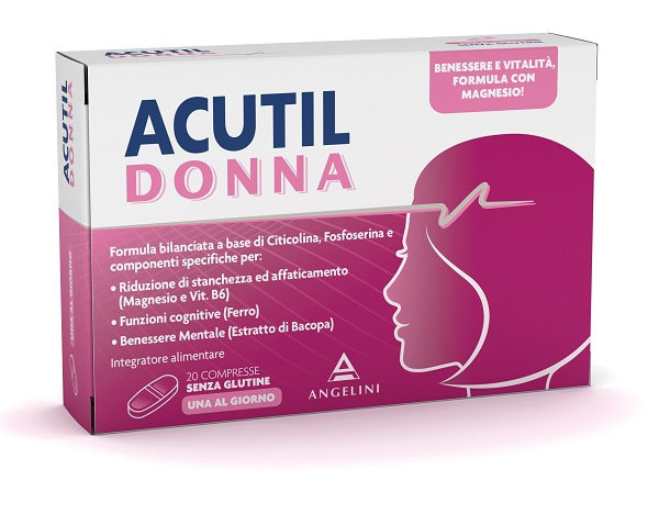 ACUTIL DONNA 20 COMPRESSE - latuafarmaciaonline.it