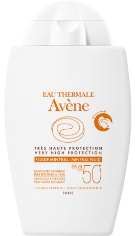 AVENE FLUIDO MINERALE 50+ 40 ML - Farmawing
