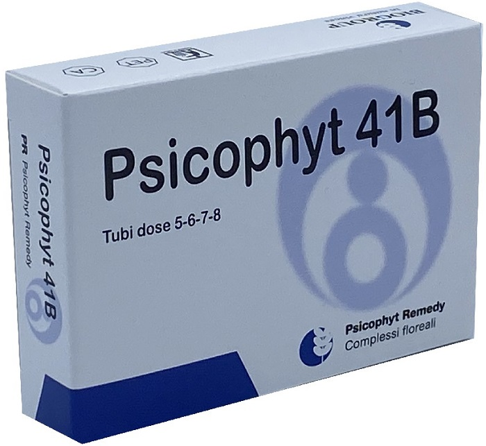 PSICOPHYT REMEDY 41B 4 TUBI 1,2G - Farmacia Centrale Dr. Monteleone Adriano