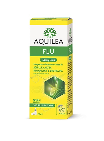 AQUILEA FLU SPRAY GOLA 20 ML - Farmaconvenienza.it